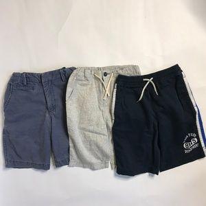 Lot of 3 Boy Shorts size 8 / M Gap H&M 7-8 y